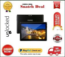 QERE TABLET ANDROID 9.0 256GB + 8GB RAM 10.1 INCH WIFI + 3G BRAND NEW BLACK