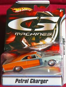 PETROL CHARGER, STREET LEGAL, 1/50 HOT WHEELS G MACHINES,   MADE IN 2008