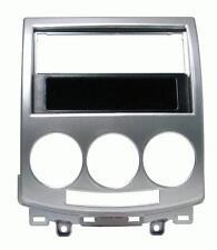 Mascherina 1-2 DIN per Mazda 05-11 colore grigio