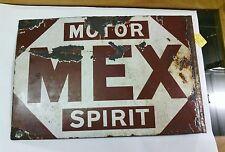 very rare Mex spirit early 1920's enamel sign