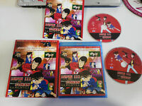 LUPIN III VS DETECTIVE CONAN LA PELICULA BLU-RAY + DVD + LIBRO ED ESPECIAL MANGA