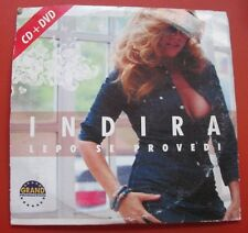 Indira Lepo Se Provedi CD + DVD Grand Production Serbia Folk Merina Tucakovic