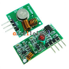 315Mhz RF transmitter and receiver link kit for Arduino/ARM/MCU remote control
