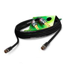 Sommer Cable 2m kurz 6G 3G BNC SDI-Kabel 4K U- HD Video Neutrik BNC-Stecker VTGX