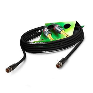 Sommer Cable 2m Corto 6G 3G BNC Sdi-Kabel 4K U- HD Vídeo Neutrik Conector Vtgx
