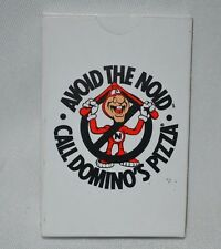 Domino's Pizza Avoid the Noid Playing Cards