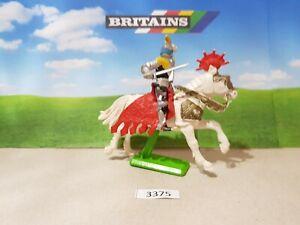 Britains Deetail Mounted Crusader Knight (lot 3375)