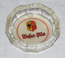 MINDENER FELDSCHLÖßCHEN Weser Pils Glas ASCHENBECHER ∅ 11 cm