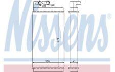 NISSENS Radiador de calefacción AUDI 100 200 V8 A6 70230