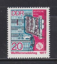 DDR340   - EAST GERMANY DDR 1977 WORLD TELECOMMUNICATIONS DAY MNH