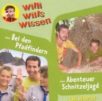WILLI WILLS WISSEN - (9) ABENTEUER SCHNITZELJAGD/BEI DEN PFADFINDERN  CD NEU