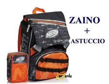 Astuccio Portapastelli Scuola 3 Zip Seven Nerf Nation accessoriato Giotto