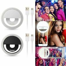 Anillo de Luz LED Recargable Para Selfie Clip de Flash Cámara iPhone Samsung HTC Huawei