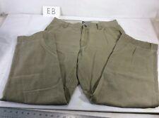 Vintage Mens COLUMBIA 35/31.5 TAN/BEIGE Heavy Duck Canvas Hiking Work Pants