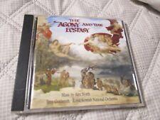 "RARE! CD BOF ""THE AGONY AND THE ECSTASY"" Alex NORTH"