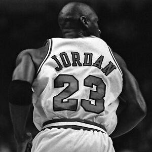 Michael Jordan poster wall art home decor photo print 16, 20, 24