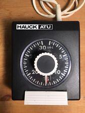 HAUCK ELECTRIC Analog 30 sec TIMER ATU 130 for Enlarger Darkroom Photo Lab 120V