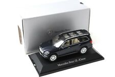 1:43 norev mercedes gl x166 dark blue dealer New en Premium-modelcars