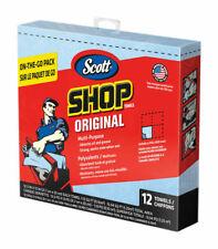 Lot of 10 Scott Paper Shop Towels 12 Towels Per Package