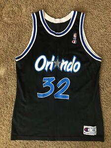 Vintage Shaquille O'Neal Shaq Orlando Magic Champion Jersey 48 XL
