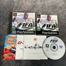 FIFA 2000 PS1 PlayStation 1 PAL Game Complete Black Label EA Sports Football