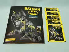 Panini 80 Jahre Batman Anniversary Sticker  Sammelalbum + 5 Tüten / 25 Sticker