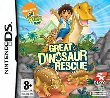 Go Diego Go! gran dinosaurio rescate NDS 2DS Nintendo DS Video Juego UK release