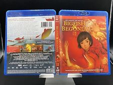 Big Fish & Begonia w/Slipcover (Blu-Ray/Dvd, 2-Disc Set, 2016)