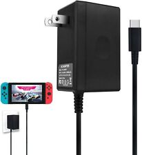 Nintendo Switch AC Power Adapter USB Type C PD Charger Power Supply for N-S