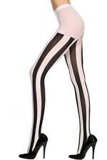 Music Legs Vertical Stripe Tights