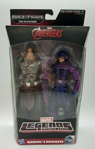 Marvel Avengers Legends Infinite Series Hawkeye Build A Figure The Allfather