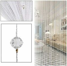 Decorative Door String Curtain Beads for Wall Panel Fringe Window Divider Blind