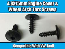 10x TORX SCREWS For VW AUDI ENGINE COVER TRAY SPLASHGUARD WHEEL ARCH 4.8X15mm