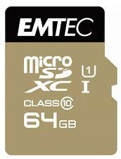 Emtec 95MB/s MicroSD Card 64GB Class 10 UHS-1 SDXC Camera Laptop Mobile
