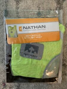 Nathan Reflective Cyclist Vest NEW High Visibility