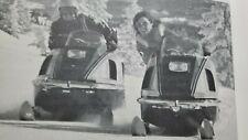 Vintage Snowmobile BOOK Polaris TX Racing Scorpion Sno Jet Hu Skee Ski-doo TNT