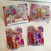 NEW My Little Pony Lot Hasbro Princess Celestia Power Ponies Pretzel Twilight C6