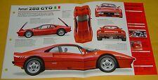 1984 Ferrari 288 GTO 2855cc V8 394 hp Weber Marelli EFI IMP Info/Spec/photo 15x9