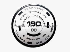 Triumph 750 Twins Front Fork Oil Type Decal 190CC (1) 97-4259 TR7 T140