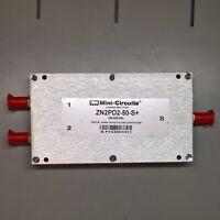 MINI-CIRCUITS ZN2PD2-50-S+ 500-5000 MHz DC PASS POWER SPLITTER COMBINER SMA RF