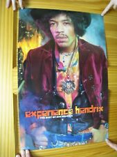 Jimi Hendrix Poster Experience The Best Of Awesome Face Body Shot