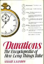 Durations: The encyclopedia of how long things tak