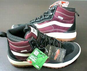 Vans Men's UltraRange Exo Hi MTE Boots Port Royale Marshmallow Black Size 9 NEW