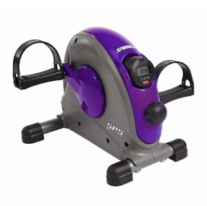 Stamina Products Mini Stationary Under Desk Exercise Bike Home/Office, Purple