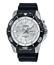 Casio Men's Black Resin Watch, Date, 100 Meter, Super Illuminator,  MTD1080-7AV