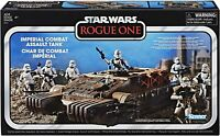 STAR WARS ROGUE ONE VINTAGE COLLECTION: IMPERIAL COMBAT ASSAULT TANK Sealed!