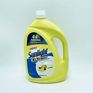 Sunlight OxiAction Dishwashing Detergent Lemon Phosphate Free Oxi Action 50 oz