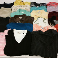 Womens Large Clothes Lot 24 Piece Mixed All Seasons Mature Conservative