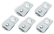 "Five (5) 9000 lbs 4 TON Silver Winch ATV UTV Pulley Snatch Block 5/16"" cable"