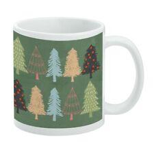 New listing Spunky Christmas Trees White Mug